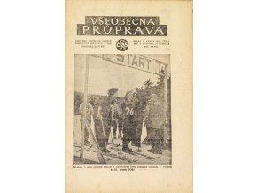 Sokol, Všeobecná průprava, Ročník XXVIDI, Číslo 1, 1951