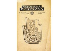 Sokol, Všeobecná průprava, Ročník XXVIDI, Číslo 6 7, 1951