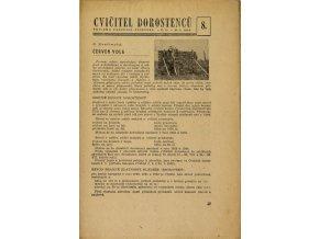 Sokol, Cvičitel dorostenců, č. 8 1949