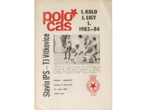 POLOČAS SLAVIA IPS v. TJ Vítkovice, 19831984 (1)