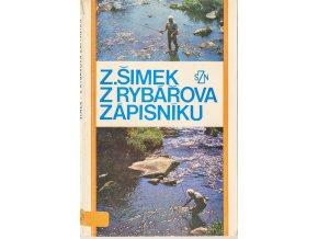 Kniha Z rybářova zápisníku, Z. Šimek, 1976