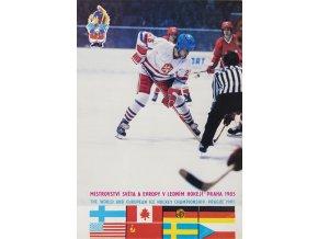 Pohlednice MS hokej, Praha, 1985 (1)