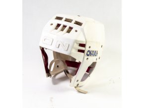Hokejová přilba OKULA, bílá (1)