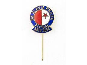 Odznak SK Slavia Praha, sezona 20192020 GOLD BB