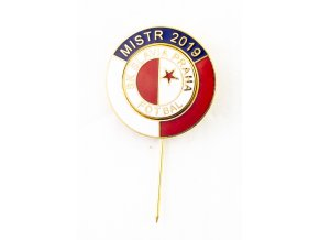 Odznak SK Slavia Praha, MISTR LIGY 2019