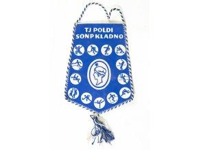Klubová vlajka SONP Poldi Kladno