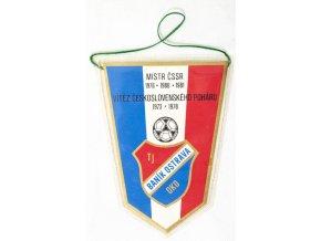 Vlajka Baník Ostrava, MISTR ČSSR 1976, 1980, 1981 (1)