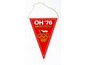 Vlajka klubová ČSSR OH 76 Montreal II (1)