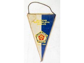 Klubová vlajka Slavan Bratislava CHZJD