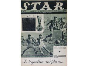 Časopis STAR, Z ligového mejdanu, Č. 39 (549), 1936