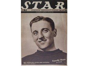 Časopis STAR, Kopecký Vlasta, Č. 10 (573), 1937