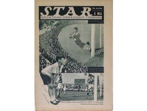 Časopis STAR, Z vítězného zápasu Viktorie Žižkov se Slávií, Č. 36 (338), 1932