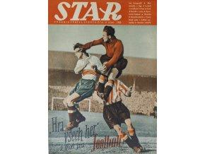 Časopis STAR, Hra všech her a sport jara, football!, Č. 11 (626), 1937
