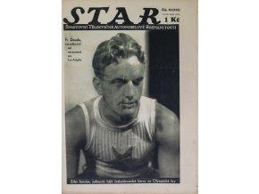 Časopis STAR, Fr. Douda, nejnadějnější náš representant pro Los Angeles, Č. 29 (331), 1932