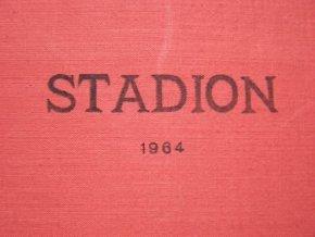 Kompletní svázaný časopis Stadion rok 1964 v tvrdé plátěnné vazb