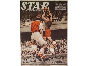 Časopis STAR, V sobotu finále poháru v Anglii, Č. 17 (632), 1938