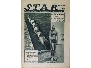 Časopis STAR, X. Olympijské hry v Los Angeles zahájeny! Č. 31 (333), 1935