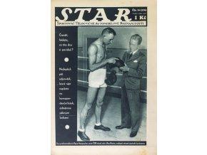 Časopis STAR, Pepa Hampacher a Ray Braine Č. 24 (327), 1935