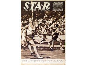 Časopis STAR, MW Atletika v Paříži Č. 32 ( 647 ), 1938 (1)
