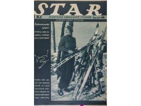 Časopis STAR, MW Atletika v Paříži Č. 46 ( 556 ), 1936 (1)
