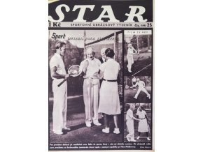 Časopis STAR, Sport rekreací pana prezidenta Č. 25 ( 588 ), 1937