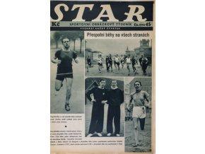 Časopis STAR, Přespolní běhy na všech stranách Č. 45 ( 555 ), 1937 (2)