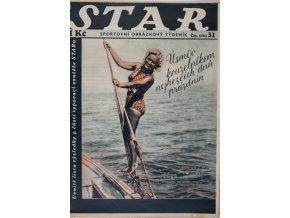 Časopis STAR, Úsměv kouzelníkem nejhezčích dnů prázdnin Č. 31 ( 594 ), 1937 (1)