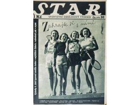 Časopis STAR, Úsměv kouzelníkem nejhezčích dnů prázdnin Č. 37 ( 593 ), 1937 (1)