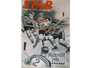 Časopis STAR, Mistrovství světa v hockeyi Č. 6 ( 621 ), 1938 (1)