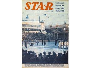 Časopis STAR, Toto číslo je památníkem mistrovství světa v hockeyi Č. 8 ( 623 ), 1938 (1)