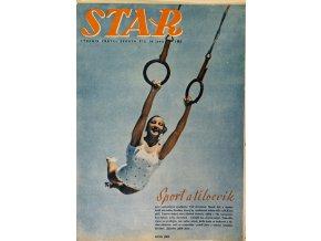 Časopis STAR, Sport a tělocvik Č. 30 ( 645 ), 1938 (1)