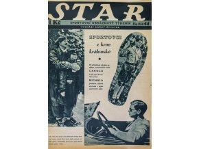 Časopis STAR, sport z krve královské Č. 44 ( 554 ), 1936 (2)