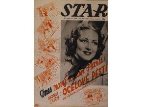 Časopis STAR, Ocelové pěsti Č. 4 ( 619 ), 1938 (1)