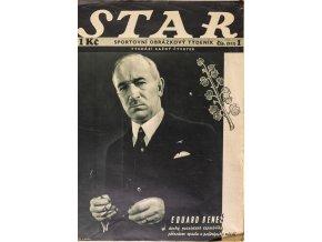 Časopis STAR, Eduard Beneš Č. 1 ( 511 ), 1936 (1)