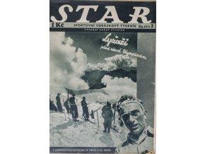 Časopis STAR, Lyžaři před zimní olympiádou Č. 2 ( 512 ), 1936 (1)
