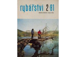 Časopis Rybářství, 21981