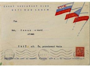 Pozvánka Českého veslařského klubu na XV. Karneval, 1938 (1)