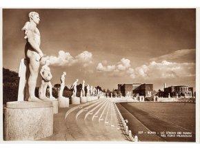 Pohlednice Roma, Lo stadio dei Mussolini (1)