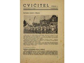 Sokol, Cvičitel, Ročník XXII, Číslo 3, 1946
