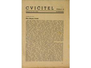 Sokol, Cvičitel, Ročník XXII, Číslo 12, 1946