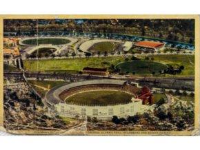 Pohlednice Melbourne cricket ground, 1956 (1)