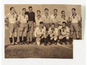 Výstřižek z časopisu, Sparta proti Austrii, 1936