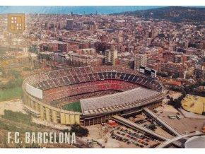 Pohlednice  - Stadion FC Barcelona, Estadi futbol