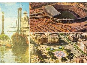 Pohlednice Stadion FC Barcelona (1)
