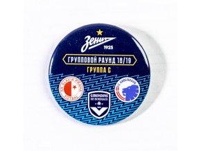 Odznak-placka , UEFA Europa league 2018/19