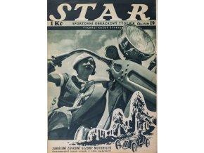 Časopis STAR, Zahájení závodní sezony motoristů Č. 19 ( 529 ), 1936 (1)