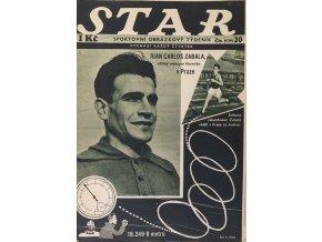 Časopis STAR, Juan Carlos Zabala Č. 20 ( 530 ), 1936 (2)