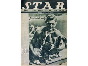 Časopis STAR, Já mám čtyři pejsky Č. 15 ( 525 ), 1936 (1)