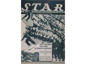 Časopis STAR, Stadion v GA PA Č. 7 ( 517 ), 1936 (1)