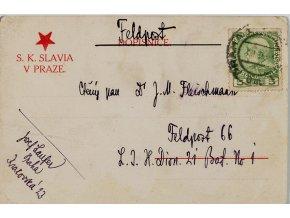 Dopisnice SK Slavia v Praze, 1914 (1)